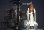 Thumbnail Space Shuttle Atlantis on the pad