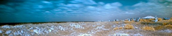 Sand Dunes, Color Infrared, Web Banner Photo