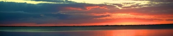 Florida Keys Sunset, Web Banner Photo