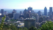 Thumbnail Montreal, downtown from the hilltop
