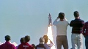 Thumbnail Spectators watch Space Shuttle launch