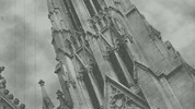 Thumbnail St. Patricks Cathedral, New York City, Black & White Film