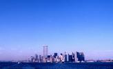 Thumbnail New York City Skyline, summer 1999 wide shot