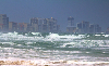 Thumbnail Daytona Beach Buildings with Hurricane Irene waves