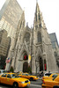 St. Patricks Cathedral and Taxis, New York City