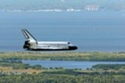 Return to Earth, Space Shuttle Atlantis