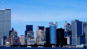 Thumbnail New York City skyline pan