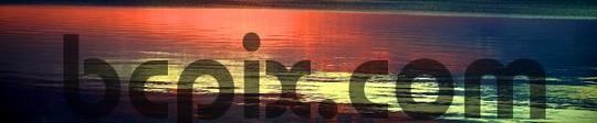 Product picture Sunset reflection, web banner photo