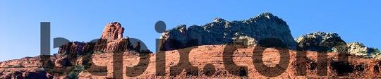 Product picture Red Rocks, Sedona, AZ, web banner photo