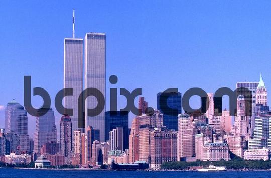 Product picture Worlld Trade Center, New York City skyline 1999
