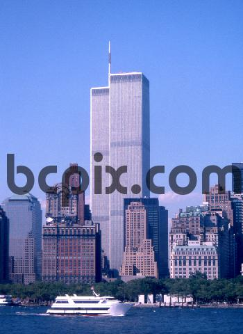 Product picture World Trade Center, New York City skyline 1999