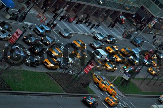 Product picture Evening Traffic Jam in NYC