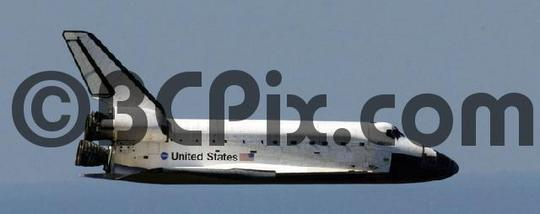 Product picture Space Shuttle Atlantis glides to Earth