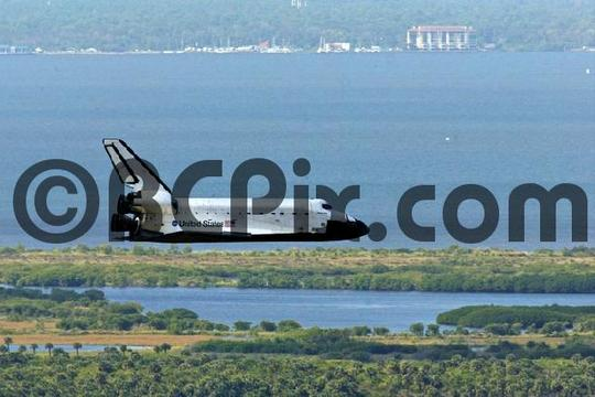 Product picture Return to Earth, Space Shuttle Atlantis
